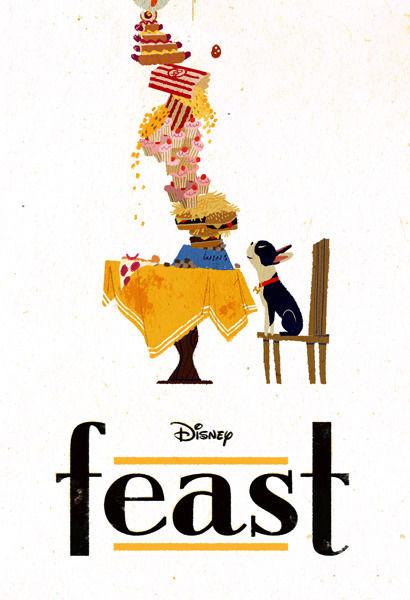 愛犬とごちそう / Feast (2014)