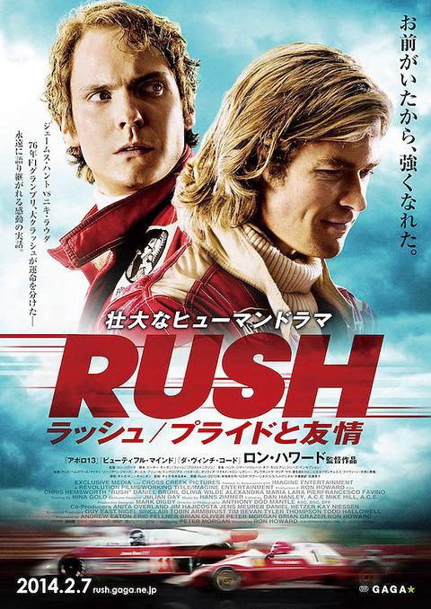 映画『ラッシュ プライドと友情 / Rush』