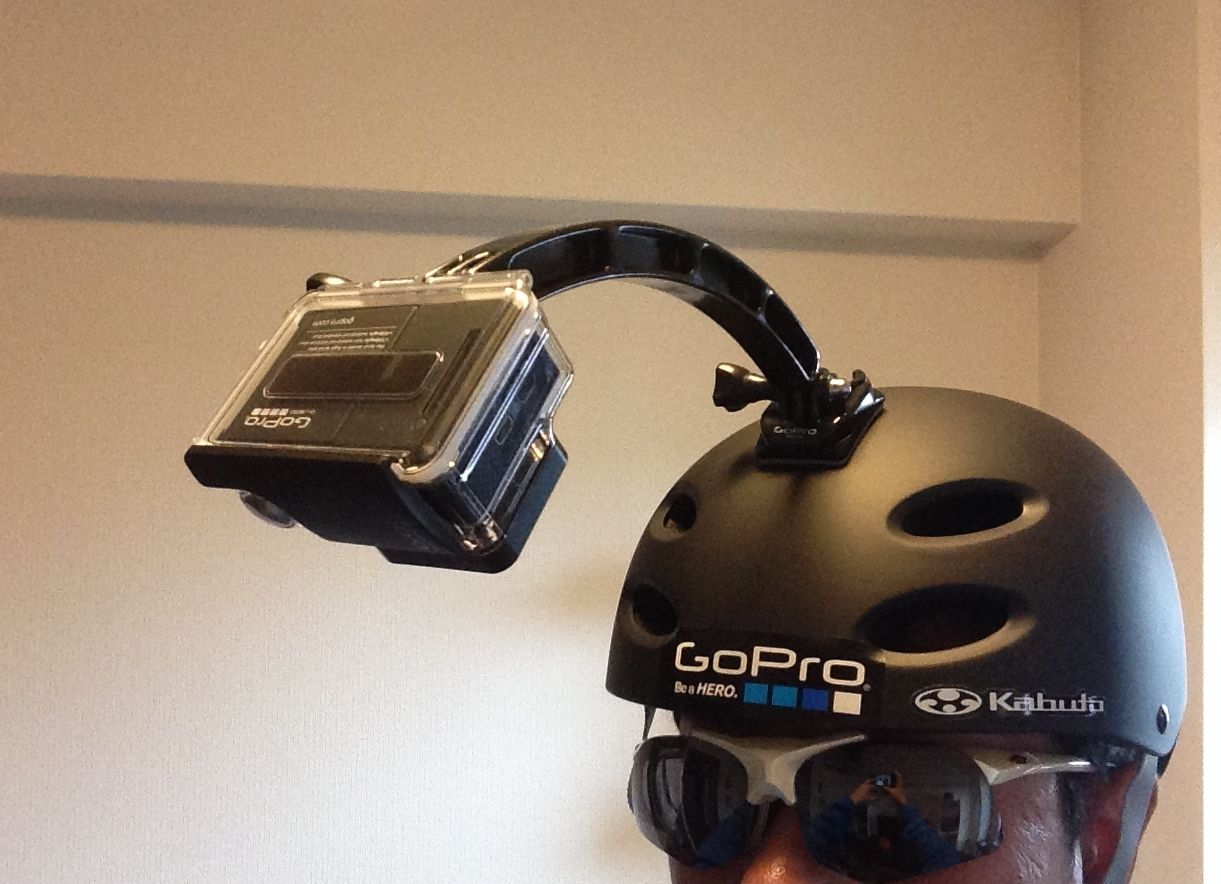 Gopro自転車グッズ一人で撮影するのにはあまりにも勇気がいるgopro
