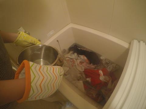 タオル洗濯4