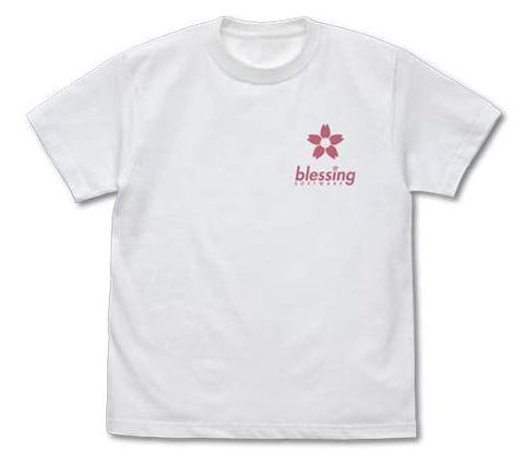 《冴えカノ》から「加藤恵 描き下ろし Tシャツ/WHITE」予約開始!印象的な坂のシーンをイメージしたデザインの加藤恵Tシャツ
