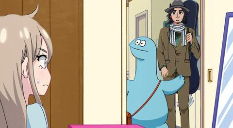 《ギャルと恐竜》7話感想・画像 アニメパートも実写パートもギャルを元気づけようとする恐竜