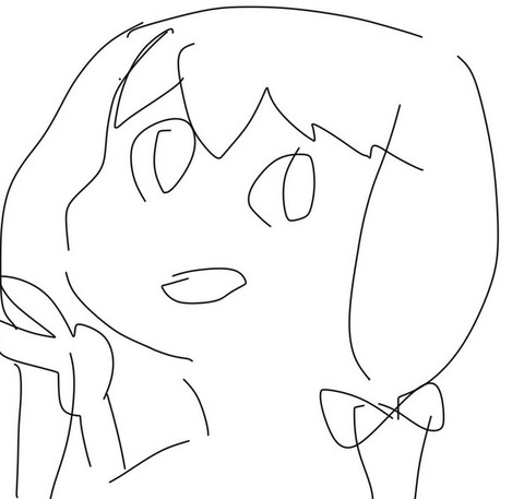《アイドルマスター》のキャラ描いたから誰か当ててみてほしい