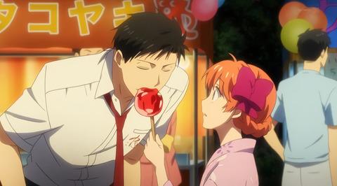 アニメの夏祭り回って絶対「リンゴ飴」出てくるじゃん