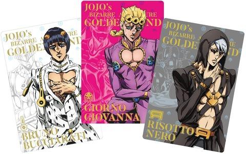 「ジョジョの奇妙な冒険 黄金の風 ウエハース」予約開始!限定描き下ろしのカードも収録