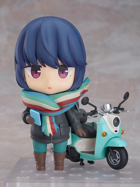 《ゆるキャン△》ねんどろいど「志摩リン ツーリングVer.」予約開始!脱着可能なマフラーに加え、ヘルメットをかぶった頭部もご用意