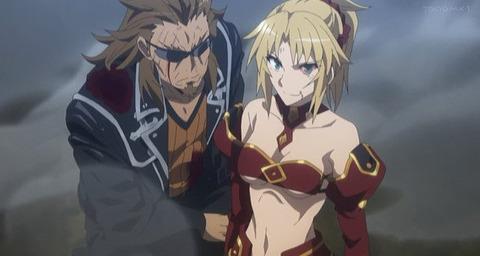 《Fate/Apocrypha》23話感想・画像 モーさんと獅子Goさんいいコンビだったな