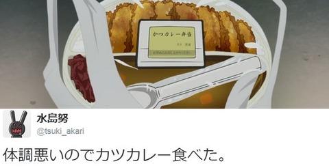 《ガルパン》水島努監督は体調悪い時はカツカレーを食べるそうだ