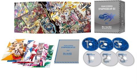 「戦姫絶唱シンフォギアGX(第3期)」BD BOX予約開始!特典映像やボーナスCDの音源も完全網羅