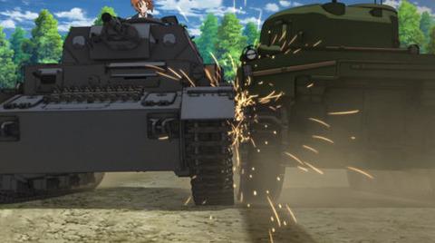 水島努監督「ガルパン好きな人は爆音で砲撃して戦車と戦車が思いっきりぶつければ喜んでくれるんだよな」