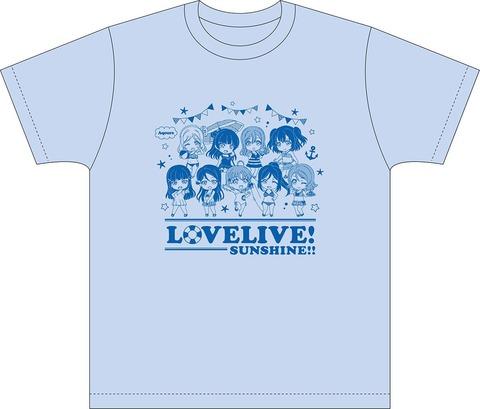 《ラブライブ!サンシャイン!!》Tシャツ「ねんどろいどぷらす」&「HAPPY PARTY TRAIN」予約開始!!!