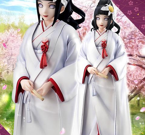 《NARUTO》ギャルズ「日向ヒナタ 祝言Ver.」予約開始!可憐な花嫁の雰囲気を醸し出しています
