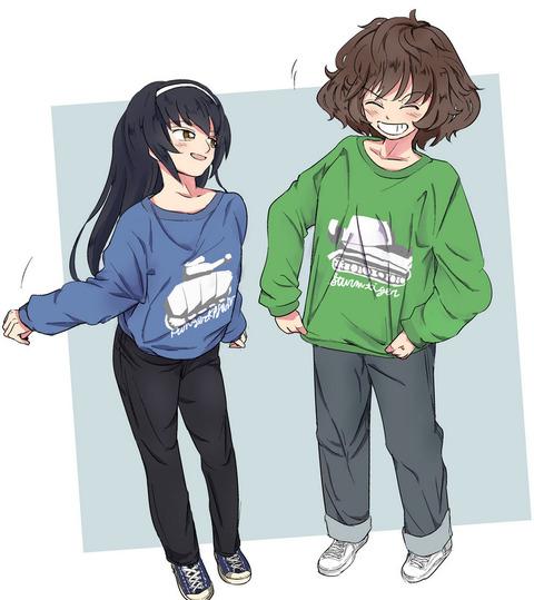 《ガルパン》麻子ちゃんとのカップリングで一番好きなのって誰?