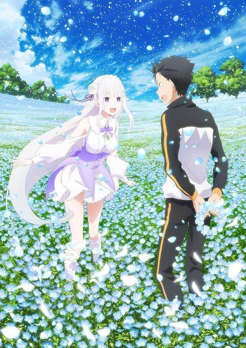 新作OVA「Re:ゼロから始める異世界生活 Memory Snow」BD予約開始!イベチケ優先申込券など用意