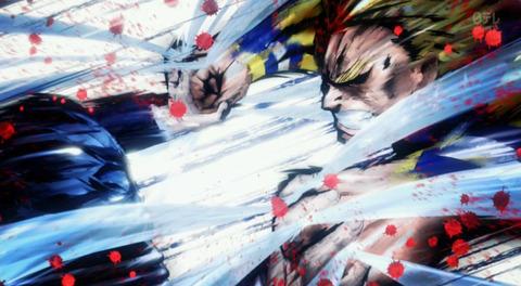 《僕のヒーローアカデミア(第3期)》10話(48話)感想・画像 オールマイトvsオール・フォー・ワン