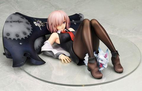 《Fate/GO》フィギュア「マシュ・キリエライト」予約開始!ふいをつかれたような無防備さが魅力的