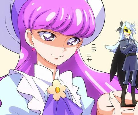 《キラキラ☆プリキュアアラモード》ジュリオくんってゆかりさんの手のひらで転がされてて面白いよね
