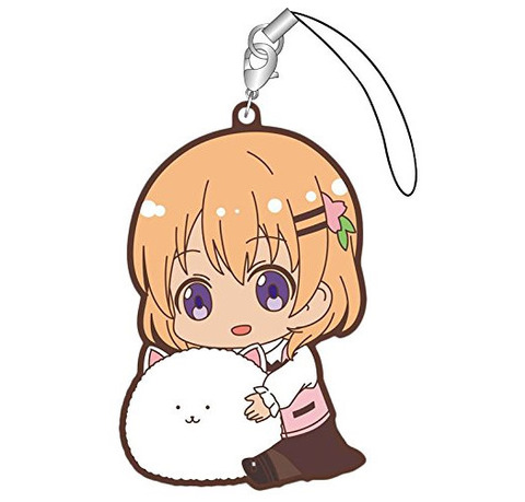 《ごちうさ》ぎゅぎゅっと ラバーストラップ「ココア・チノ・千夜・リゼ・シャロ」予約開始!!!