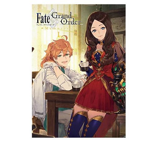 画集「Fate/Grand Order Memories I 概念礼装画集 第1部 2015.07-2016.12」予約開始!8月20日発売!!!