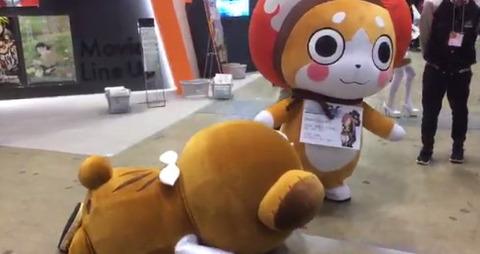 《ガルパン》AnimeJapan 2017に現れたボコに対する声優の反応が面白い