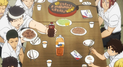 《ALL OUT!!》16話感想・画像 男子高校生の食欲恐るべしwwwwww