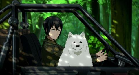 《キノの旅 -the Beautiful World- the Animated Series》2話感想・画像 バイクが喋るんだから犬も喋るよ