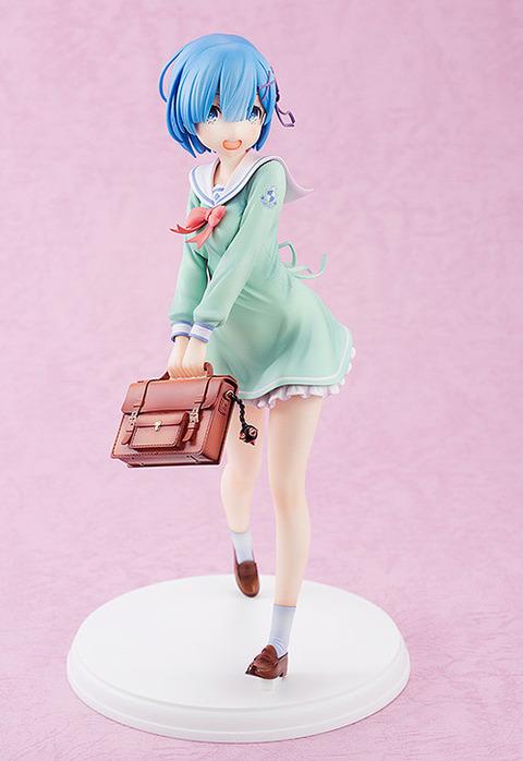 《リゼロ》フィギュア「レム 学生服Ver.」予約開始!「レム」が学生服に身を包んだ可愛い姿で登場