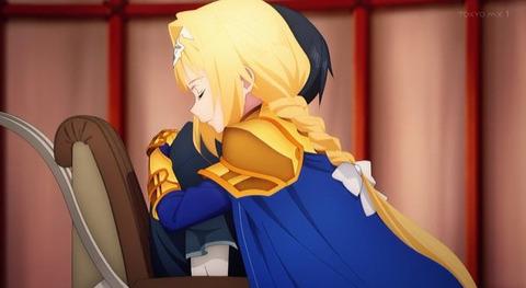 《ソードアート・オンライン アリシゼーション War of Underworld(SAO3期)》5話感想・画像 アリスがキリトを連れて元整合騎士と合流