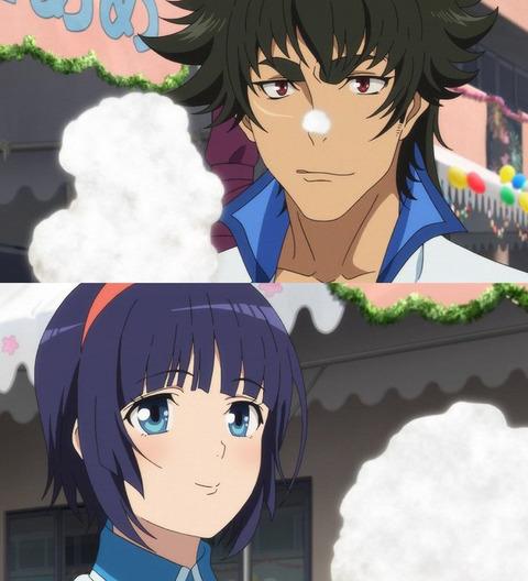 《クロムクロ》13話感想・画像 剣ちゃんと由希奈ちゃんが文化祭でいちゃいちゃ!2クール目に向けて良い引きするな