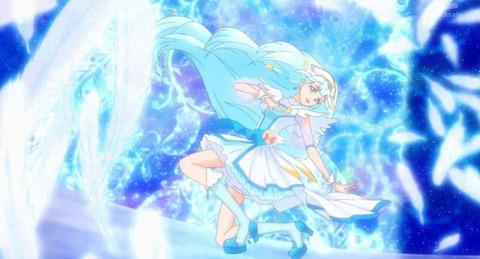 《HUGっと!プリキュア》2話感想・画像 キュアアンジュ誕生!さあやちゃん天使だな