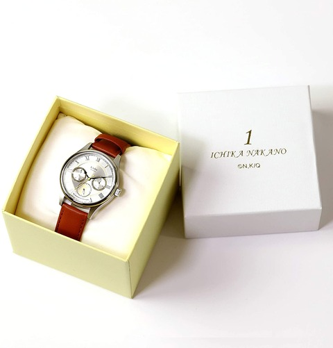 「五等分の花嫁∬ 腕時計」5種予約開始!各キャラカラーとモチーフをあしらった、モダンでスタイリッシュなデザイン
