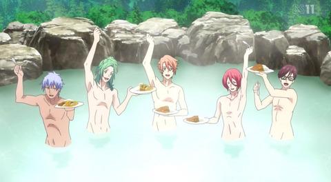 《B-PROJECT ~鼓動*アンビシャス~(Bプロ)》3話感想・画像 最近のアイドルは温泉でカレー食べるのかwww