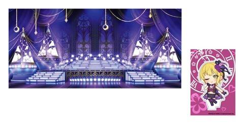 「アイドルマスター シンデレラガールズ アクリルキャラステージ Stage010 Tulip」予約開始!大きなジオラマに、最大5枚までキャラプレートを設置できます