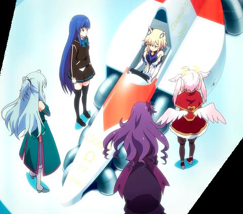 《アンジュ・ヴィエルジュ》9話感想・画像 お風呂アニメがレースアニメにwww