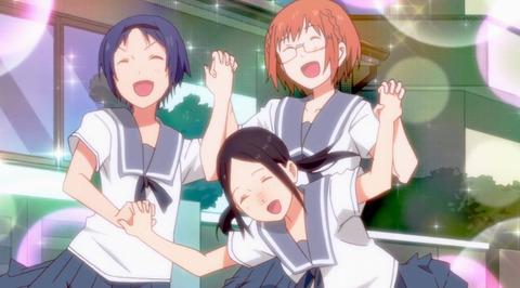 《ちおちゃんの通学路》12話(最終回)感想・画像 最終回で女子高生がノーパンの良さを伝えるアニメ.