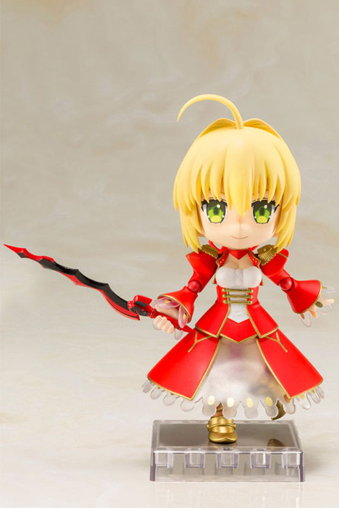 《Fate/EXTRA》キューポッシュ「セイバー」予約開始!剣であるアエストゥス エストゥスが付属