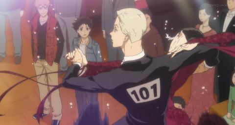 《ボールルームへようこそ》12話感想・画像 性格キツそうな女の子が登場!仙石さんのダンスを見てレベルの差を感じる多々良くん