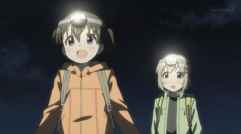 《ヤマノススメ サードシーズン(3期)》1話感想・画像 3期は夜の登山からスタート