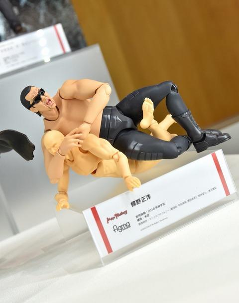《ガルパン》の応援大使「蝶野正洋さん」のfigmaかなりよくね?