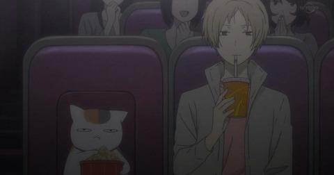 《夏目友人帳 陸(6期)》4話感想・画像 先生映画館入っていいんだ!かなり気になる感じで終わったな