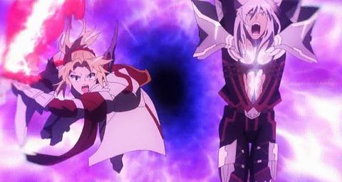 《Fate/Apocrypha》14話感想・画像 セイバー同士の宝具技めっちゃカッコイイ