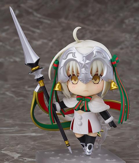 《Fate/GO》ねんどろいど「ランサー/ジャンヌ・ダルク・オルタ・サンタ・リリィ」予約開始!ちょっぴり不気味な「じるクン人形」も付属