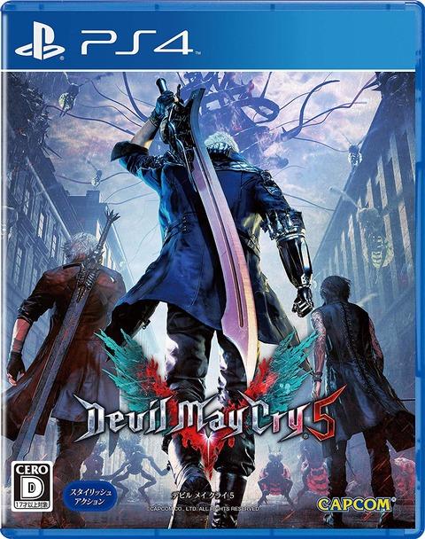 PS4&Xbox One「デビル メイ クライ 5」予約開始!伝説のスタイリッシュアクションが復活
