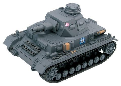 《ガルパン》ぺあどっと「4号戦車D型 EDVer.」&「4号戦車D型改/H型仕様 EDVer.」予約開始!!!