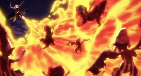 《魔法少女特殊戦あすか》9話感想・画像 火炎放射器で戦う魔法少女