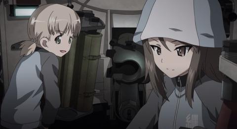 《ガルパン》継続高校の「アキちゃん」って戦車内での仕事多くないか?