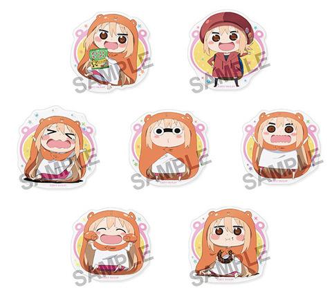 「干物妹!うまるちゃんR トレーディングアクリルバッジ vol.2」予約開始!様々な表情のうまるちゃんが描かれた全7種