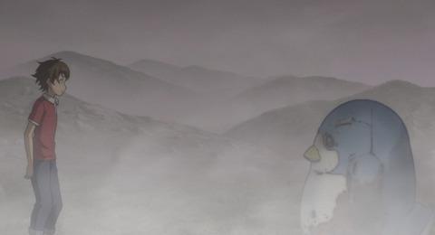 《迷家-マヨイガ-》9話感想・画像 時宗ペンギンはこういう大きさだと可愛いかも