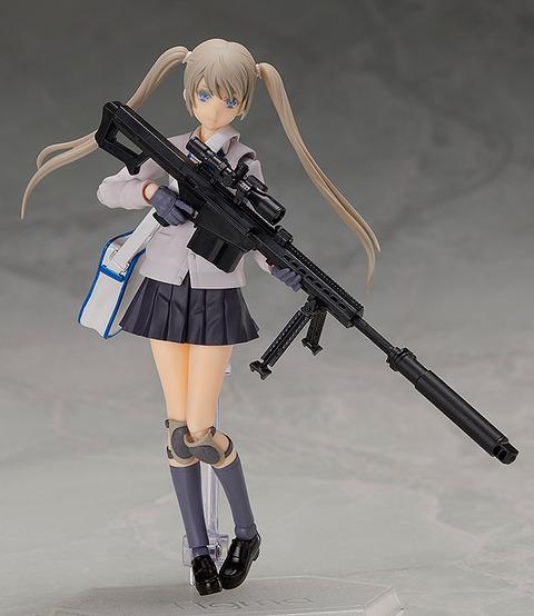 《リトルアーモリー》figma「照安鞠亜」予約開始!セミオートマチック式対物狙撃銃「M82A1タイプ」のfigma用限定キットが付属