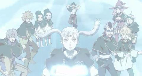 《ブラッククローバー》42話感想・画像 ノエルちゃんの魔法で海底神殿のある空間に突入